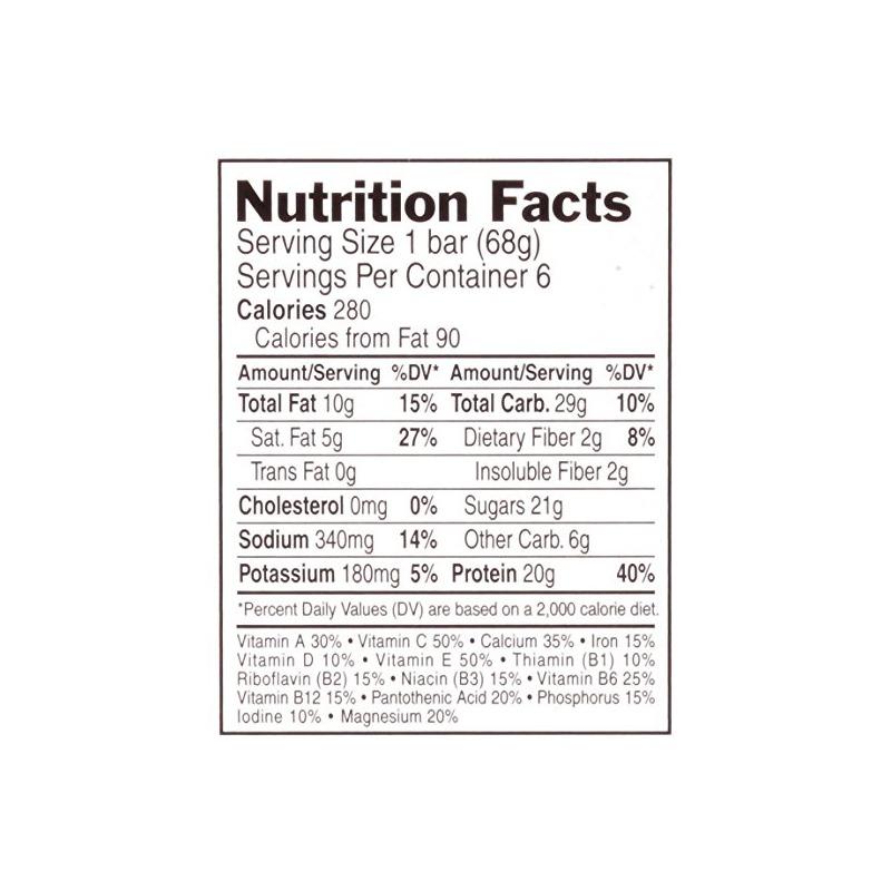 Crunchy Peanut Butter Nutritional Facts